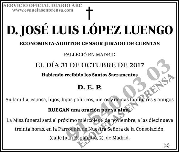 José Luis López Luengo
